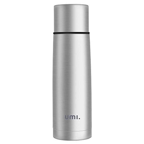 Amazon Brand - Umi Termo Cafe, 500ml, Frasco de Vacío de Acero Inoxidable, Sin BPA, para Niños, Colegio, Oficina, Viajes, Aire Libre