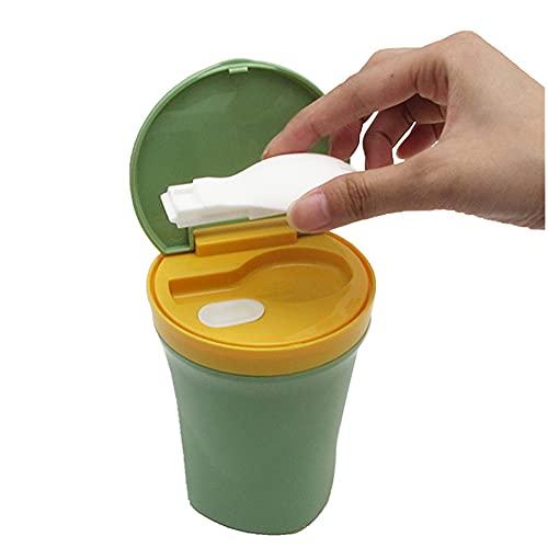 450 Ml Termo para Comida con Cuchara Caja De Plástico Sellada Portátil Taze Recipientes Térmicos para Sopa para Beber para Niños Adultos Escuela Oficina Fiambreras,450ML Red